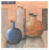 Blue Vase II Prints by  Ranz
