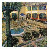 Le Jardin De L'Hopital D'Arles Kunstdrucke von Vincent van Gogh