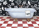 Modern Bath I Print by  Conde