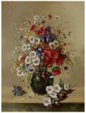 Bouquet de septembre Poster par Corrado Pila