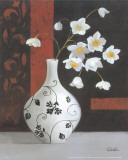 Contemporary Vase I Poster by Cano 