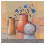Blue Flower Posters by  Ranz
