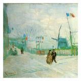 Le Moulin A Poivre (Détail 1) Posters by Vincent van Gogh