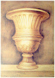 Monumental Vase I Poster by Lewman Zaid