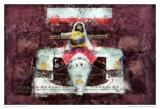 Racing Car 2 Posters par Jean-François Dupuis
