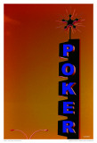 Poker - Orange Posters by Pascal Normand