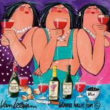 Wanna Have Fun II Plakater af El Van Leersum