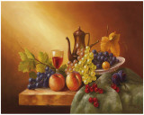 Still Life With Fruits I Lminas por Fasani