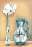 Flower And Vase I Art by  Ferrer