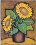 Sunflowers I Prints by  Urpina