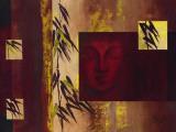 Buddha IV - Goldfoil Poster von  Verbeek & Van Den Broek