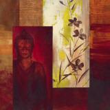Buddha II Poster von  Verbeek & Van Den Broek