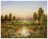 Marshlands Prints by H. Buchner