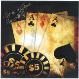Live Is A Game, I&#39;m All In Poster