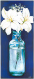 Bottled Flowers IV Prints by  Ferrer