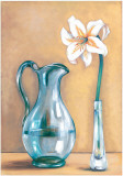 Flower And Vase II Prints by Ferrer 