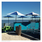 Dock Bar By The Sea II Prints by Carl Ellie