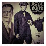 Vintage Boywear 1925 Prints by Jean-François Dupuis