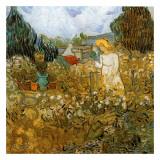 Marguerite Gachet Dans Son Jardin Prints by Vincent van Gogh