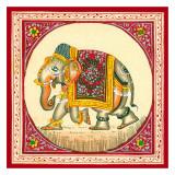 Tibetan Elephant Art