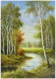 Birches Prints by Helmut Glassl