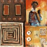 La Femme & L'Enfant Prints by Melain N'zindou