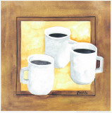 Cups Of Coffee I Prints by Urpina 