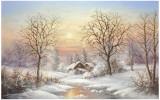 Cosy Winter Poster par Helmut Glassl