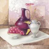 Still Life With Vases Poster von Babicev Vjaceslav