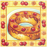 Cherry Cake Prints by Urpina 