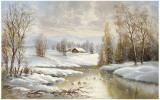 Winter Twilight Posters af Helmut Glassl