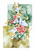 Flower Center I Prints by  Villalba