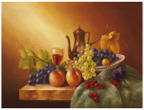 Still Life With Fruits I Posters by Fasani 