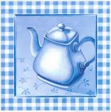 Blue Kitchen Kit IV Poster von  Urpina
