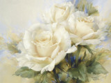 Bouquet di rose bianche Stampe di Igor Levashov