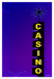 Casino - Violet Art by Pascal Normand