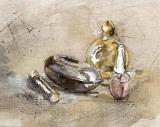 Perfume III Prints by A. Vega