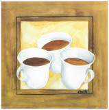 Cups Of Coffee II Posters by Urpina 