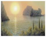 Crimean Sunset Poster by A. Gorjacev