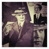Vintage Menwear 1925 Art by Jean-François Dupuis