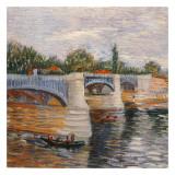 Le Pont De La Grande Jatte Poster by Vincent van Gogh