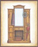 Interior I Art by  Urpina