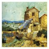 Le Vieux Moulin Posters by Vincent van Gogh