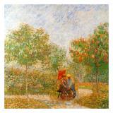 Parc Voyer D'Argenson A Asnieres (Détail 1) Posters by Vincent van Gogh