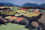 Pastel Landscape VI Print by Jacques Clement
