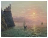 Yalta Sunset Affiches par A. Gorjacev