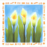 Flowers Reaching For The Sky II Print by  Urpina