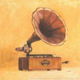 Antique Phonograph Affiche par  Conde
