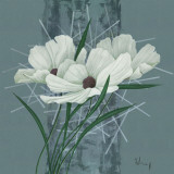 Majestic Bouquet II Print by Franz Heigl