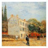 Le Restaurant Rispal A Asniere Posters by Vincent van Gogh
